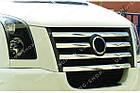 Накладки на решетку радиатора  Volkswagen Crafter 2006-2011, фото 4
