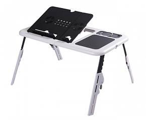 Подставка столик для ноутбука с двумя USB кулерами (nri-2060)