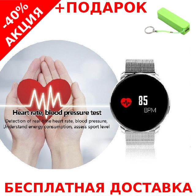 Наручные часы Smart M9 фитнес трекер Original size + powerbank 2600 mAh