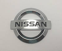 Эмблема решетки радиатора и крышки багажника  Nissan 7*6см, фото 1