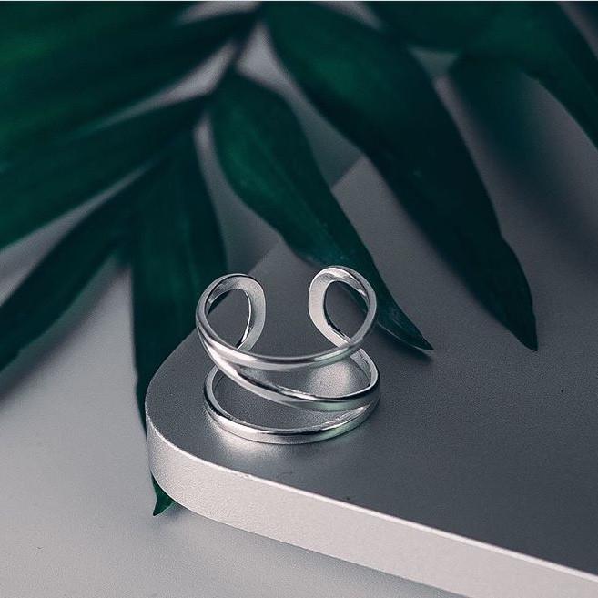 """Серебряное фаланговое кольцо """"Возможность"""""""