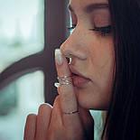"""Серебряное фаланговое кольцо """"Возможность"""", фото 2"""