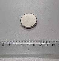 Неодимовый магнит D30х5mm N38