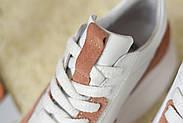 Женские кроссовки Atomio Lardini на высокой подошве натуральная кожа\замш, фото 2