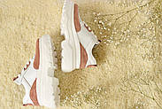 Женские кроссовки Atomio Lardini на высокой подошве натуральная кожа\замш, фото 6