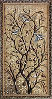 Гобеленовая картина с золотом 50х100 Птицы