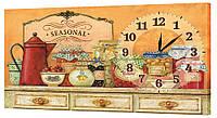 Настенные часы Декор Карпаты 53х29 (53х29-ch34)