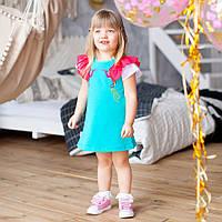 Легкое летнее платье PL-19-14-2 *Тропики*