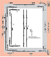 Поворотная фурнитура Roto NT 12/18-9 для дерева (500*1400)