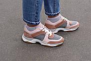 Женские кроссовки Atomio Lardini натуральная замша., фото 9