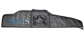 Чехол для винтовки с оптикой 125 см чёрный