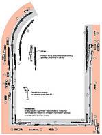 Фурнитура для арочных окон Roto NT 12/18-9 для дерева (500*1300)