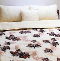 Одеяло шерстяное двустороннее, Полуторное
