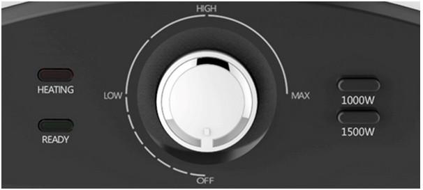 Панель управления водонагревателя Willer EH20R Edge+