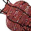 Подсвечник декоративный бисер PE-1 кувшин розовый, фото 4