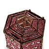 Шкатулка для бижутерии и украшений красная SВ-3, фото 4