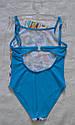 """Цельный купальник для девочки """"Butterfly"""" голубой р. 122-146 см (KEYZI, Польша), фото 3"""