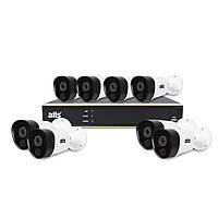 Комплект видеонаблюдения на 8 камер ATIS PIR kit 8ext, 5MP, фото 1