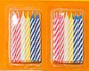 Свечи для торта толстые