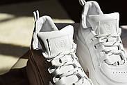Женские кроссовки Dragani с высокой подошвой, натуральная кожа, фото 3