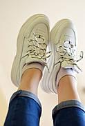 Женские кроссовки Dragani с высокой подошвой, натуральная кожа, фото 4