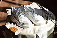 Женские кроссовки Dragani с высокой подошвой, натуральная кожа, фото 5