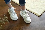 Женские кроссовки Dragani с высокой подошвой, натуральная кожа, фото 9