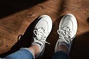 Женские кроссовки Dragani с высокой подошвой, натуральная кожа, фото 10