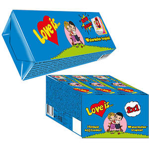 Жевательные конфеты Love is Арбуз тропик