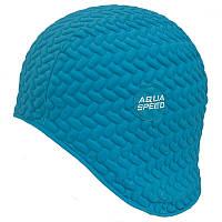 Шапочка для плавания Aqua Speed Bombastic Tic-Tac Бирюзовая