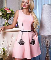 Стильное женское платье | Полу-солнце Лолитта jd