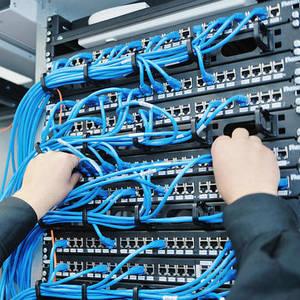 проектирование, монтаж, обслуживание структурных кабельных сетей (СКС)