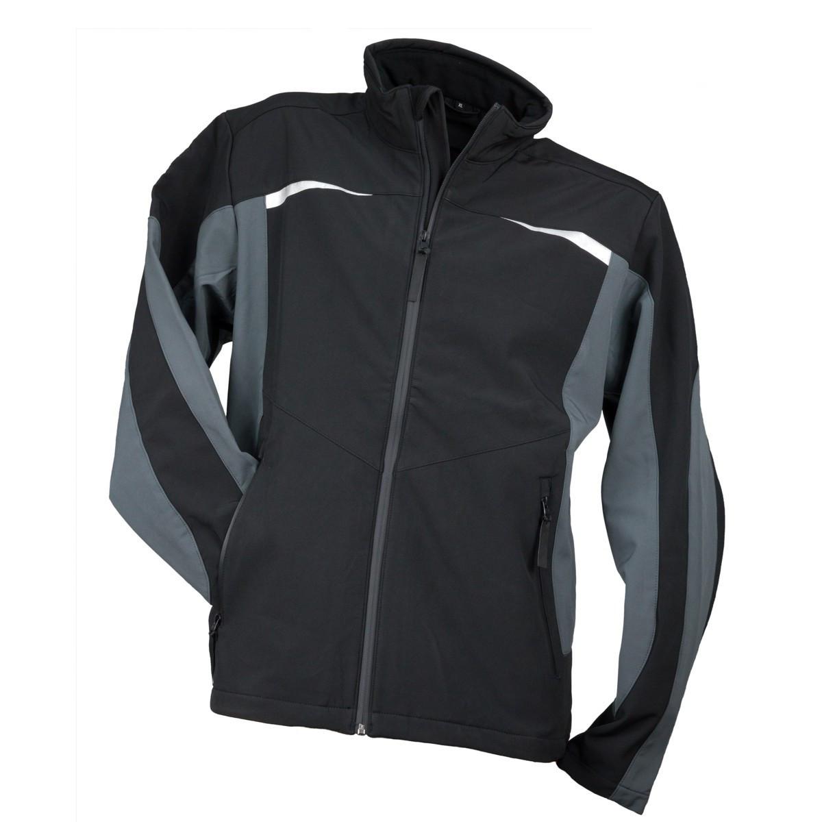 Куртка рабочая KURTKA SOFTSHELL SF-1241 ANTHRACIT из флисовой подкладкой  Urgent (POLAND)