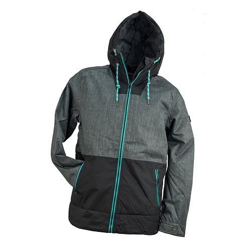 Куртка рабочая URG-182 выполнена из полиэстера, черно-серого цвета.  Urgent (POLAND)