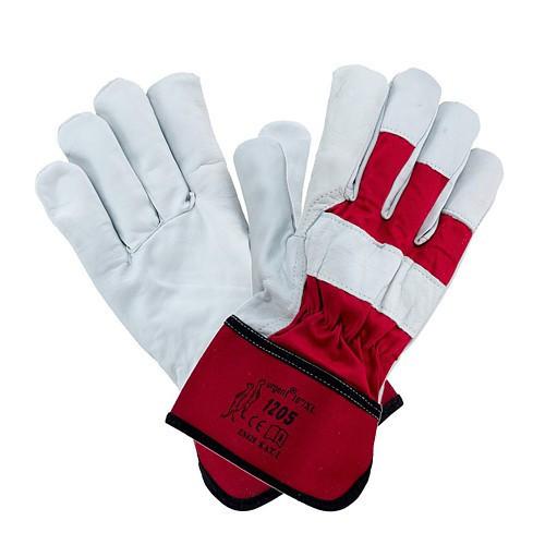 Перчатки 1205 с козьей кожей с жесткой манжетой Urgent (POLAND)