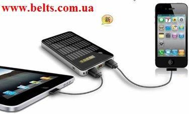 Зарядное устройство Solar Charge 4000 мАч для мобильных телефонов