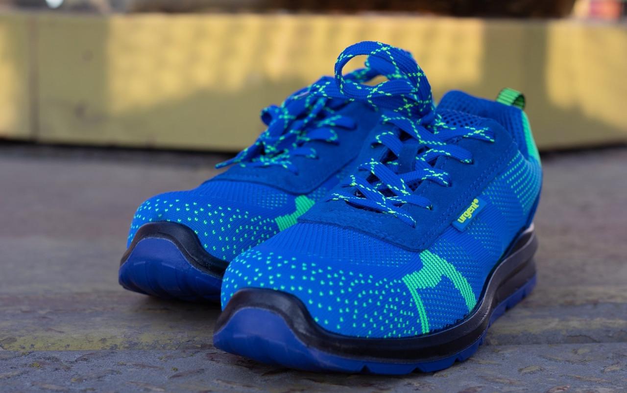Кроссовки  231 S1 защитная с металлическим носком,антистатические, синего цвета.  URGENT (POLAND)