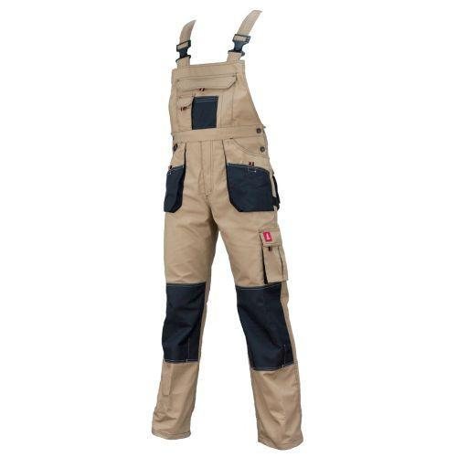 Рабочий полукомбинезон URG-C spodnie do pasa 260G из полиэстера и хлопка.  Urgent (POLAND) 58