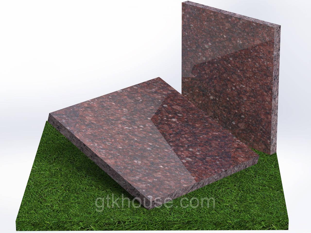 Плитка гранитная полированная  Токовская (Размер 300×300)