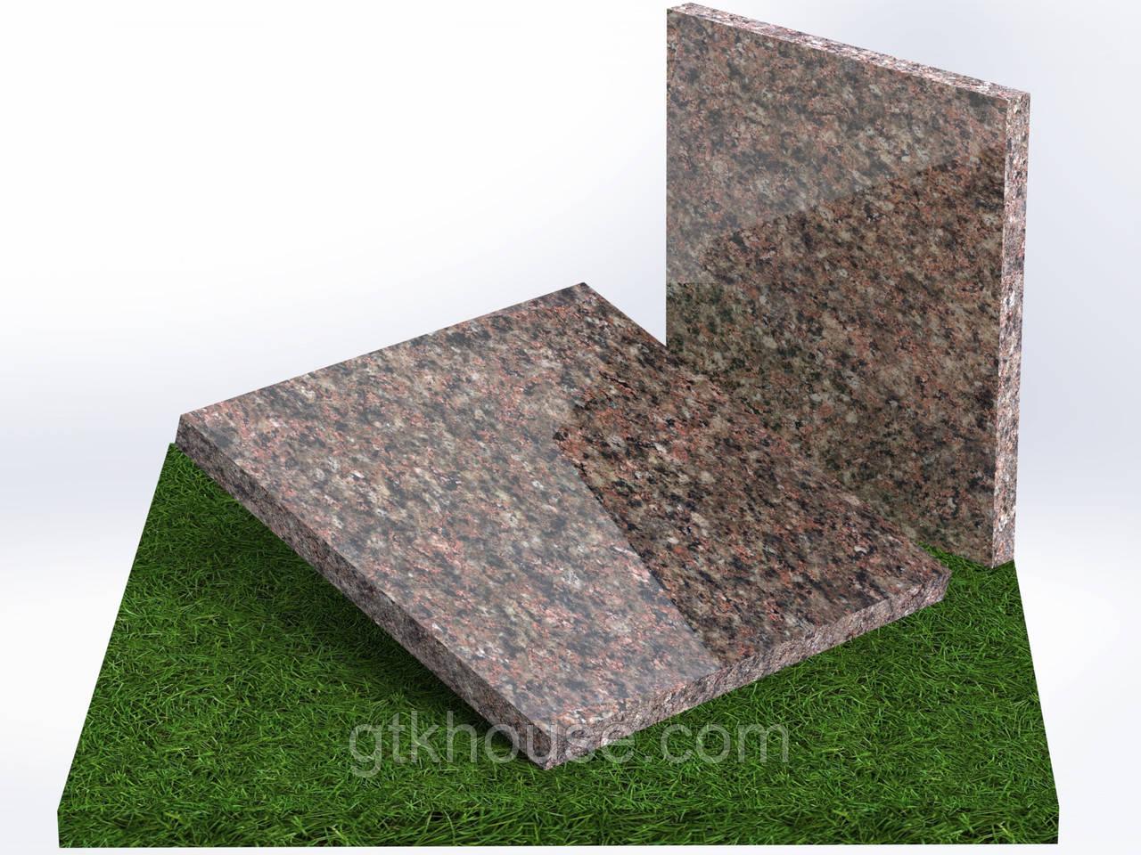 Плитка гранитная полированная Васильевская (Размер 300×300)