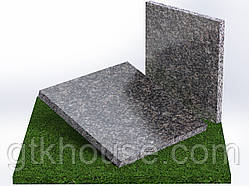 Плитка гранитная полированная Старобабанинская (Размер 300×300)