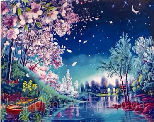 Картина по номерам «Волшебная ночь» (40*50 см)