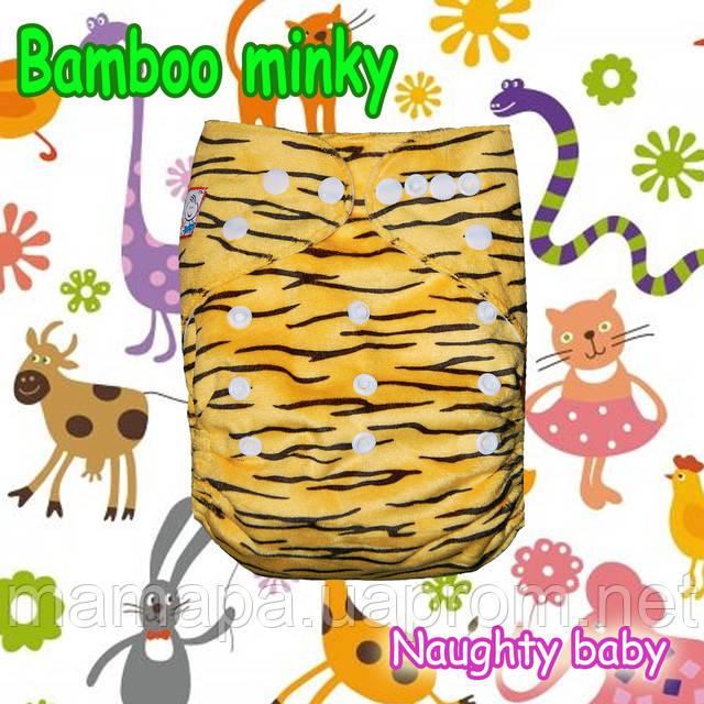 Бамбук угольный велюр