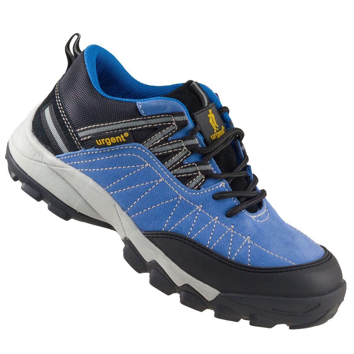Кроссовки 233 S1 защитые с металлическим носком, черно-синего цвета.  URGENT (POLAND)  44