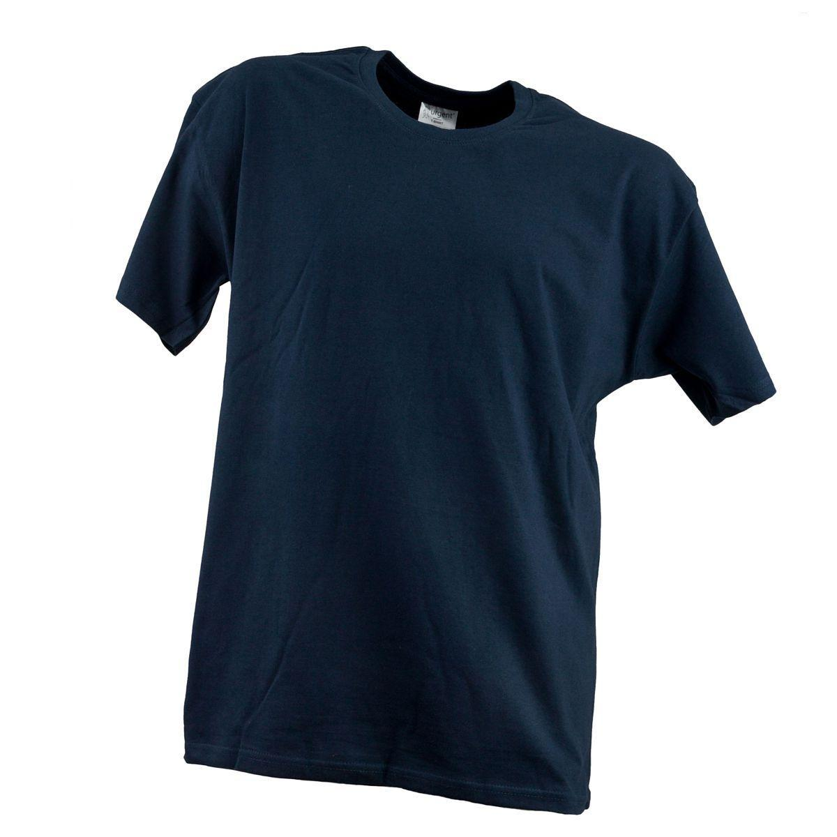 Футболка T-SHIRT MĘSKI GRANAT 180g плотностью 180g, темно-синего цвета.  Urgent (POLAND)