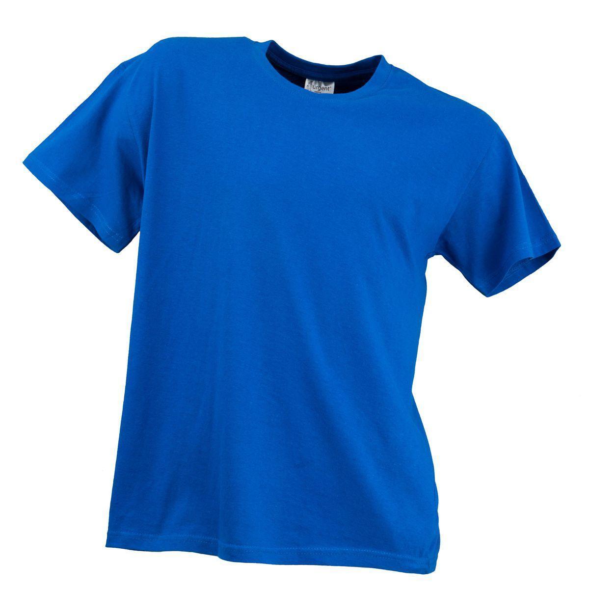 Футболка T-SHIRT MĘSKI POMARAŃCZ 180g плотностью 180g, синего цвета.  Urgent (POLAND) M