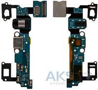 Шлейф для Samsung A700F Galaxy A7 / A700H Galaxy A7 с разъемом зарядки, гарнитуры и микрофоном