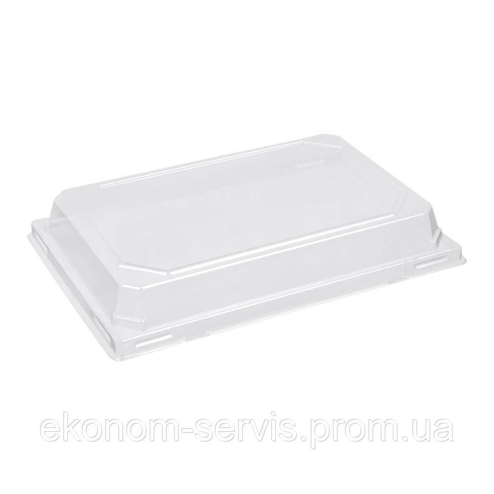 ПС-64 Крышка для контейнера пластикового прозрачная 22*15*4 см.