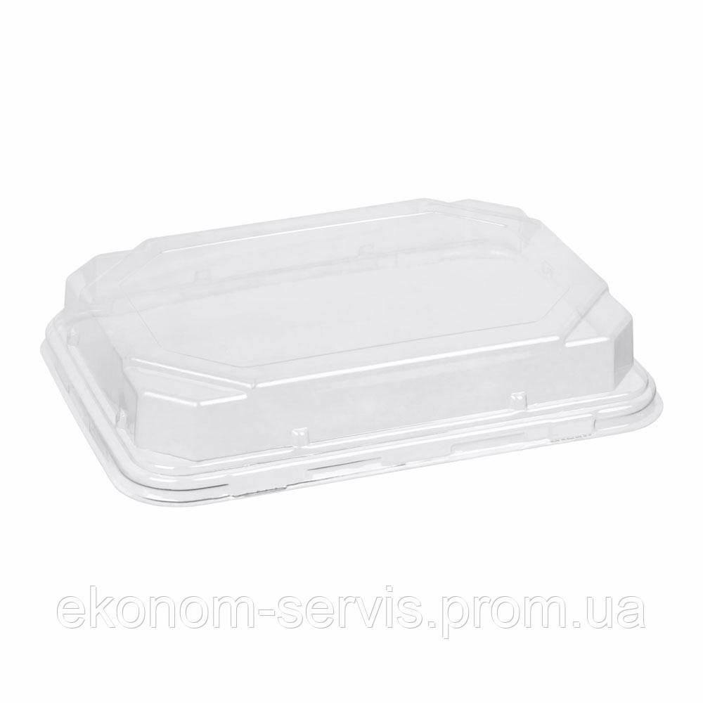 ПС-63 Крышка для контейнера пластикового прозрачная 18*13*4 см.