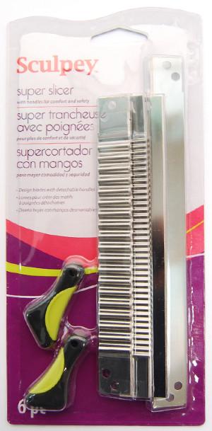 НОВИНКА! Ножи для пластики фирменные Sculpey Studio Super Slicer (6 предметов)